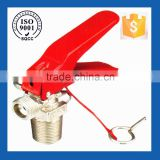 Brass co2 cylinder valve, co2 fire extinguisher valve, valve for co2 cylinder