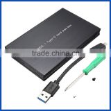 "Aluminium HDD box USB3.1 Gen 2 type C to SATA III2.5"" inch HDD/SSD hard disk driver enclosure"