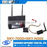 SKY-700D + SKY-N500 5.8ghz 32CH 500mw Transmitter long distance wireless video transmitter receiver for cctv camera