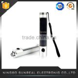 2015 New Products 3 led solor hand crank flash light hand crank solar dynamo torch with low price