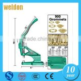 WELDON Small Easy operate hand presses button machine,eyelet machine