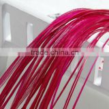 Hot Selling Cheap Grizzly Real Rooster Feathers Hair Extension