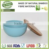 bamboo serving bowls, bamboo fibre rice&fruit&snack bowl set                                                                         Quality Choice