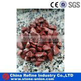 Landscaping high polished red polished pebble stone                                                                                                         Supplier's Choice