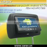 Andriod 4.0 OS tablet car pc for advertising system