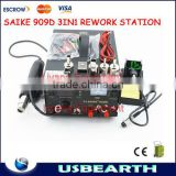SAIKE 909D 110V / 220V 3 in 1 SMD SMT Hot Air Rework Solder Station Heat Gun