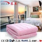 Latest Technology Automatic Temperature Control Single/Double Synthetic Wool Electric Blanket Made In China