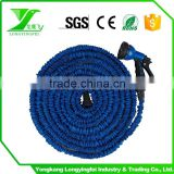 new products garden and watering USA fitting blue stretch hose expanding magic extensible garden hose