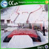 Commercial grade winter inflatable air bag,giant airbag landing pad,snowboard and bike soft pillow for sale                                                                                                         Supplier's Choice