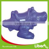 New design plastic rocking horse with TUV certification for kids LE.YM.010