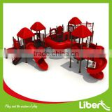 Safety and High Quality Children Used Outdoor Playground Equipment,Playground Tube Spiral Slides