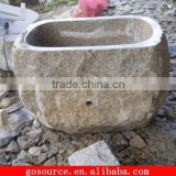 outdoor stone sink