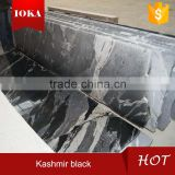 New Jet Mist Black Granite Polished Tiles & Slabs