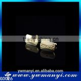Alloy main material custom high grade gold cufflink for men shirt G0026