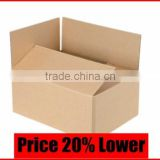 Corrugated Box Birthday Packaging, High Quality Foil Stamping Packaging Boxes Manufacturer