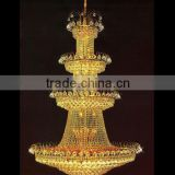 Banquet hall lighting indoor large cheap crystal chandeliers