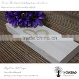 HONGDAO wooden gift box, wooden gift box for silk scarf, hot sale wooden gift box for silk scarf