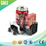 new plastic car bottle holder 2 in 1 car multi drink holder