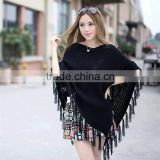 Top sale cashmere poncho pure coat sweater