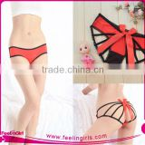 Red Young Girls Cotton Transparent Panty Lingerie Pics