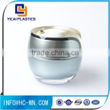 Best selling 50g acrylic jar plastic cosmetic face cream jar Cosmetic package jar                                                                                                         Supplier's Choice