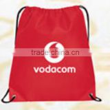 guangzhou factory backpack shopping bag string shopping bag