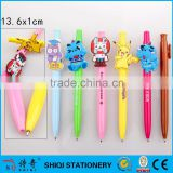 plastic rubber cartoon character OEM clip pen                                                                         Quality Choice