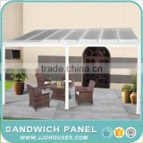 China factory patio shade cover,2016 modern aluminum rain awning supports door canopy for window or patio cover