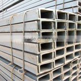 China punched channel steel beam, U deformed steel bars, steel channel theory weight chart, U beam steel, Mr.Hilman's beams