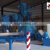 steel tube pipe/GI round steel pipe/tube welding structure building material blasting machine