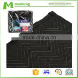 Heavy Grade Bright Blue Durable Microfiber Packing Van Quilted Funiture Moving Blanket                                                                         Quality Choice
