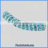 Wholesale Jewelry Pave Crystal Rhinestone Connector Bar Clay Tube Charm Beads For Bracelet CTB-039