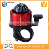 Aluminum alloy material Mountain bike compass bell Colorful dazzle beautiful bicycle bell speakers