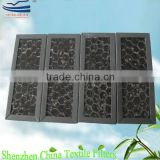 Cardboard honeycomb activated carbon filter screen
