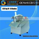 Multi fuction electric innovative vegetable cutter machine models with 5 blades and CE approved