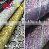 Glitter design PU leather for Sandal with fashionable surface