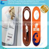 High quality Plastic PVC Door Hanger tag, Hang tag