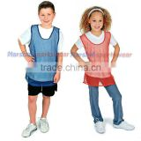 Custom Mesh soccer vests youth soccer bibs training bibs manufacture