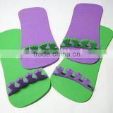 EVA Foam SlIpper Disposable Slipper Bath Indoor Slipper Toe Separator