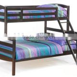 2015 colorful beautiful with stairs black double bunk bed