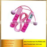 Multifunctional digital skipping rope with calories counter