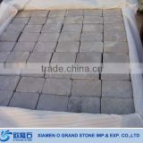 Outdoor Driveway Cube Stone Paving Tumbled Green Sandstone Paving Stone
