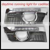 For cadillac SRX drl led headlight lamp Daytime Running Light LED DRL car fog lamp led head light