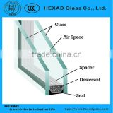Hexad Hiigh Quality energy saving environmental sound proof hollow glass and Insulated glass                                                                         Quality Choice
