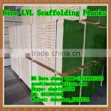 OSHA Pine lvl scaffolding planks used for construction