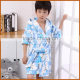 Wholesale Dyed Home Bathrobe For Children
