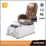 nail salon spa pedicure massage chair with foot tub