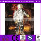 100% Glass Fabric Nylon Coating Neoprene Heat Insulation Fire Entry Suits
