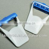 Disposable sofit medical body hair remove signle blade razor