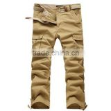 Outdoors Work Wear Popular Khaki army Men Military Training Fashion Tupac Pants with Mulit Pockets